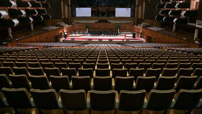 The Auditorium at the Royal Festival Hall