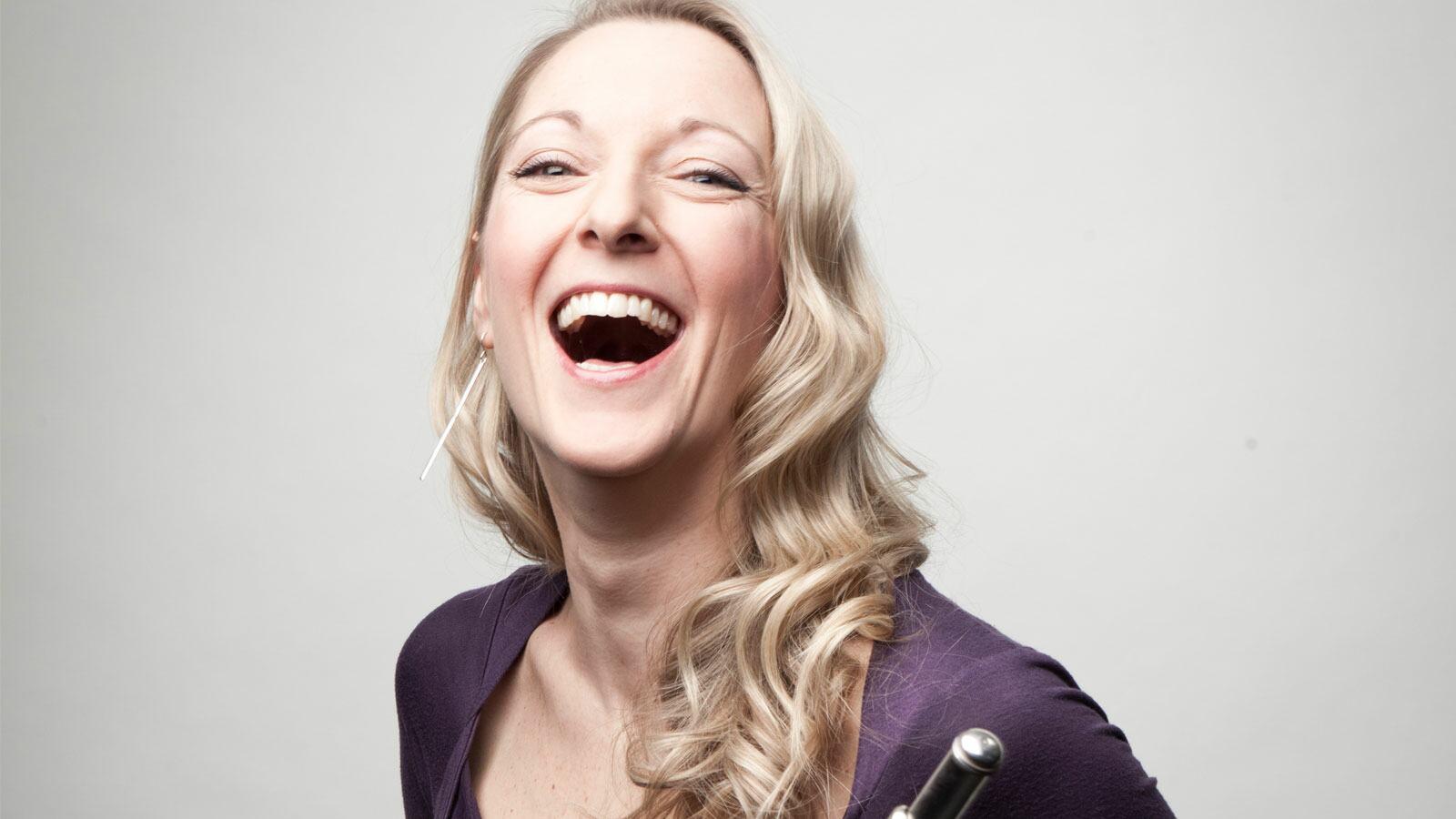 Juliette Bausor, flautist