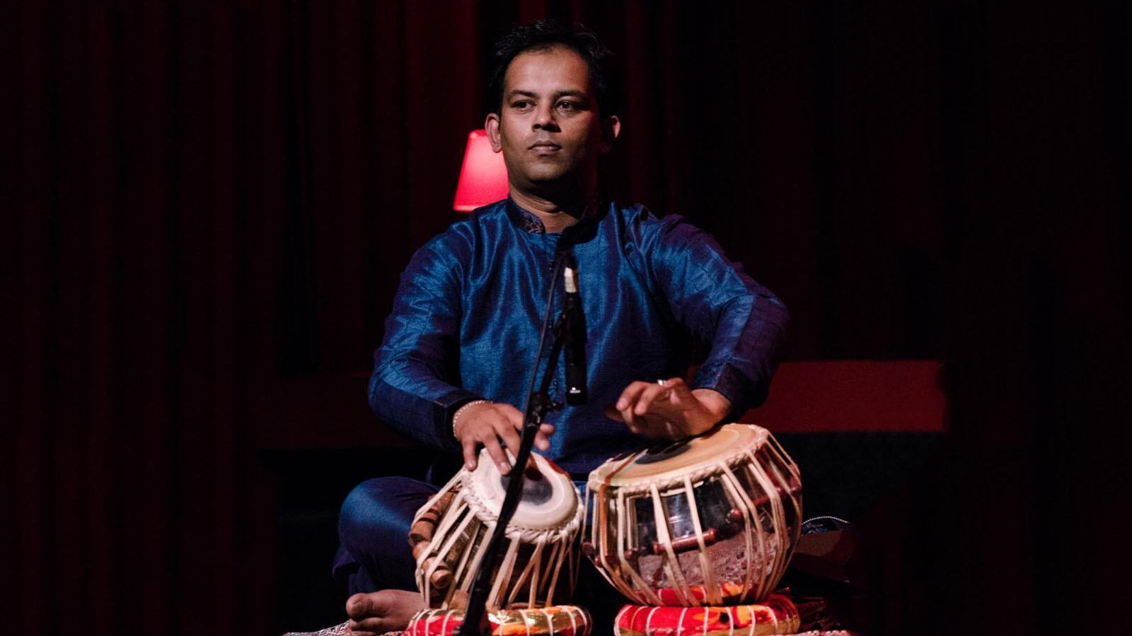 Ustad Shahbaz Hussain, tabla player