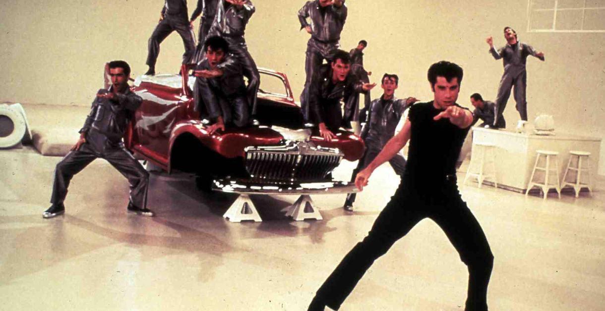 John Travolta in Grease