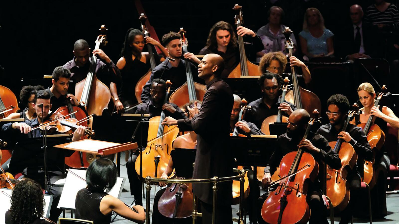 Chineke! Orchestra on stage