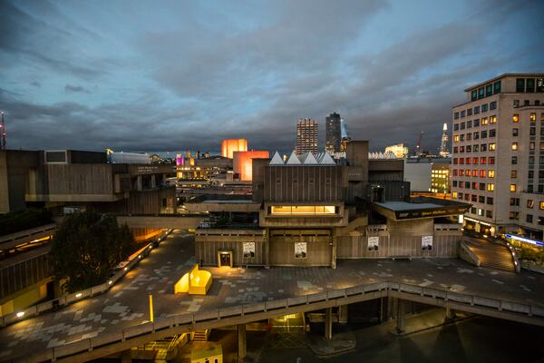 View from St Paul's Roof Pavilion balcony