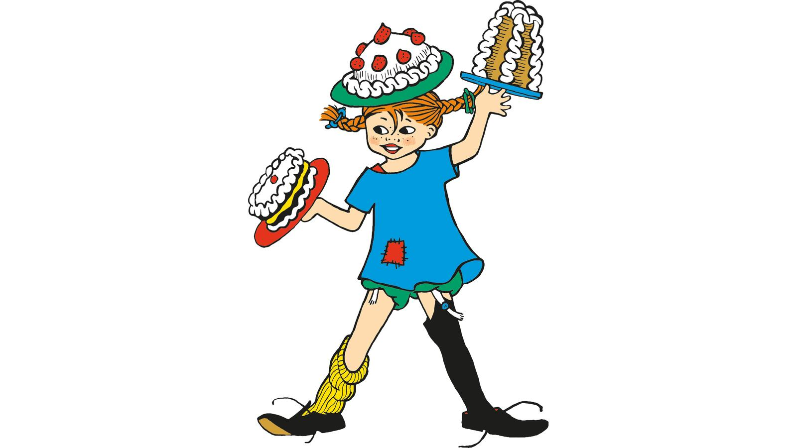 Illustration of Pippi Longstocking
