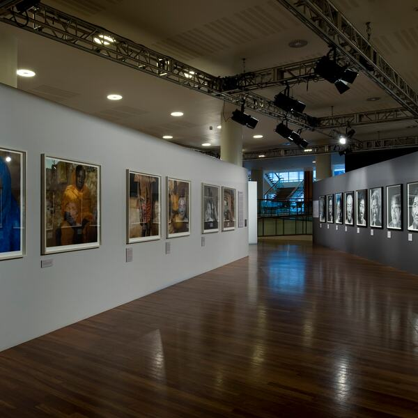 Installation View of Installation View of DISPOSABLE PEOPLE: CONTEMPORARY GLOBAL SLAVERY