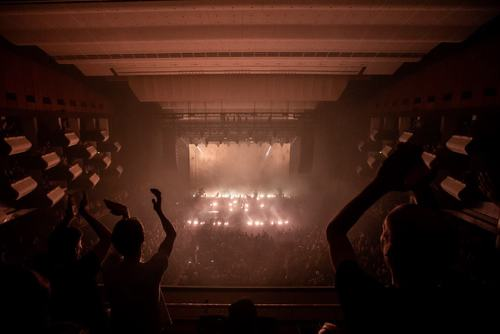 Nine Inch Nails perform in Southbank Centre's Royal Festival Hall as part of Robert Smith's Meltdown