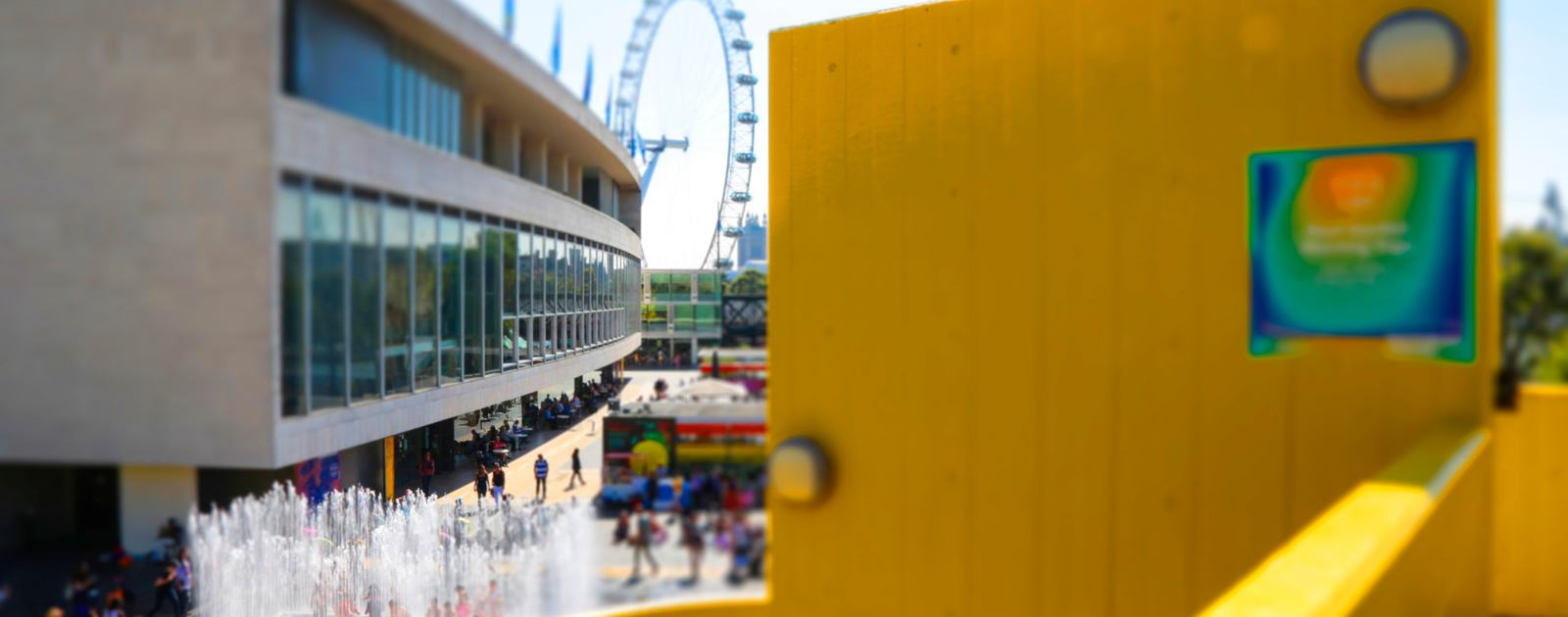 SOUTHBANK CENTRE AERIAL TILT SHIFT VIEWS BY INDIA ROPER-EVANS_50