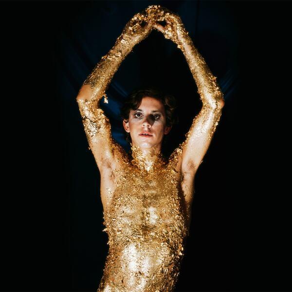 Luciano Castelli, Goldene Schallplatte 3, 1974. © Luciano Castelli. Courtesy of the artist