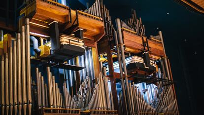 The organ in Royal Festival Hall