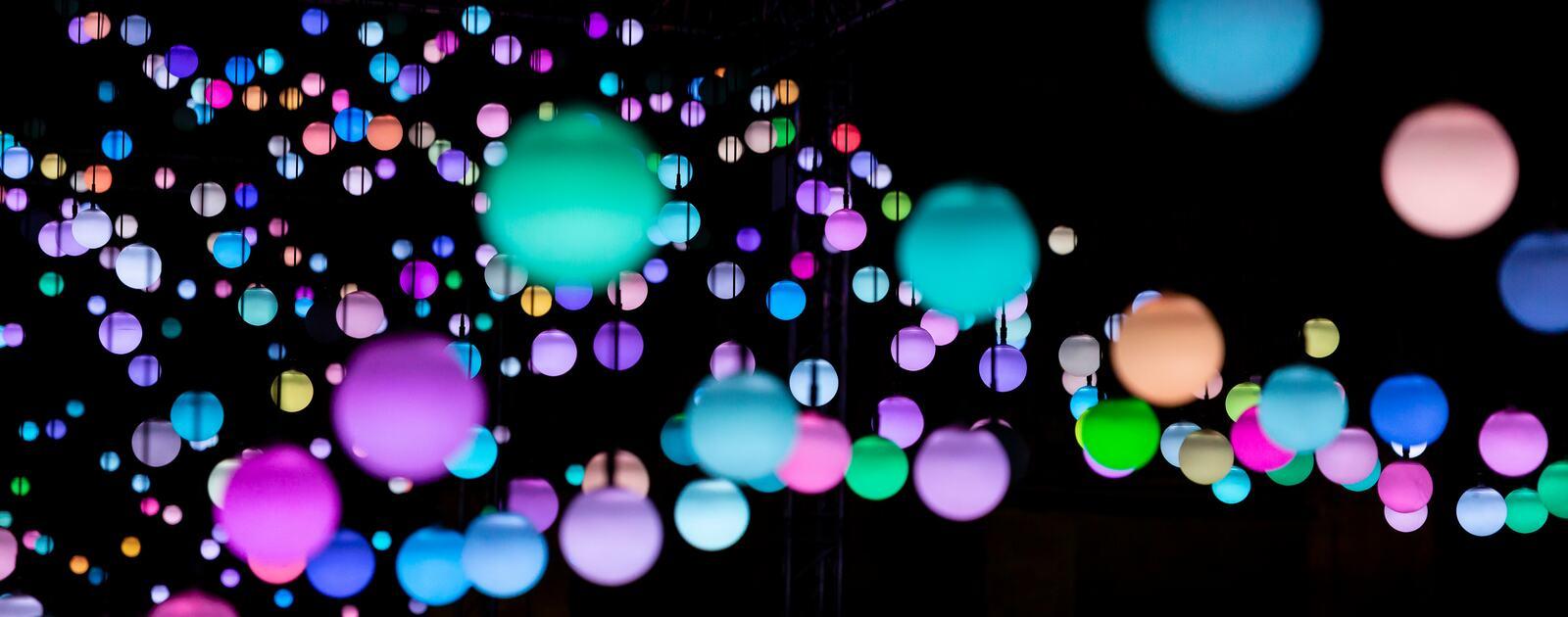 image of light installation