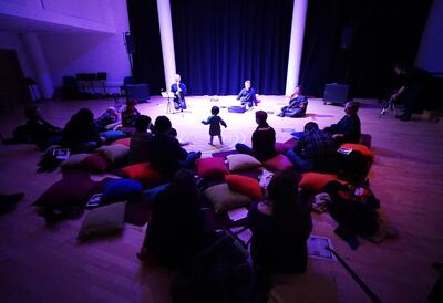 Sonic Cradle at Southbank Centre