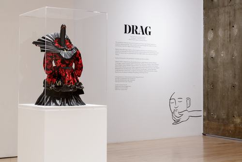 Installation view of DRAG at Hayward Gallery's HENI Project Space