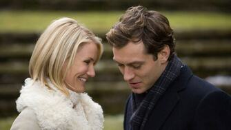 Cameron Diaz and Jude Law in a scene from The Holiday