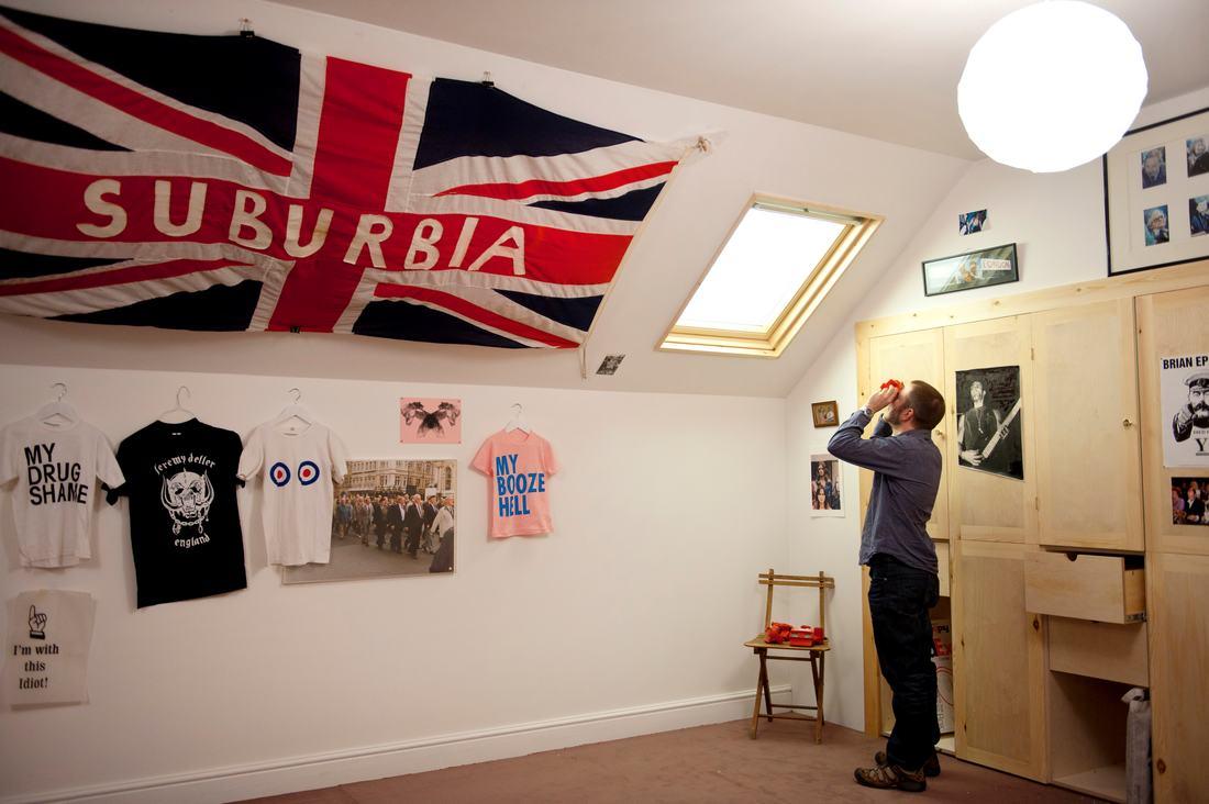 Open Bedroom recreation by Jeremy Deller at Hayward Gallery 2012