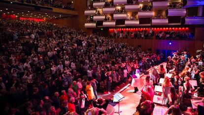 WOW 2020 Friday grand opening session in Royal Festival Hall