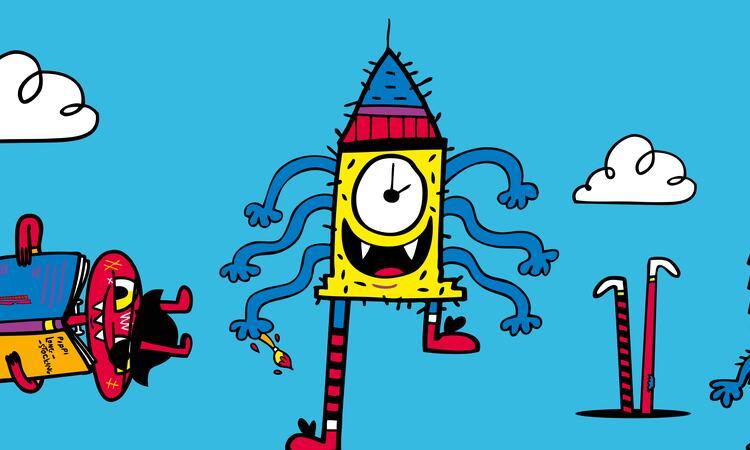 Monsters at Imagine Children's Festival