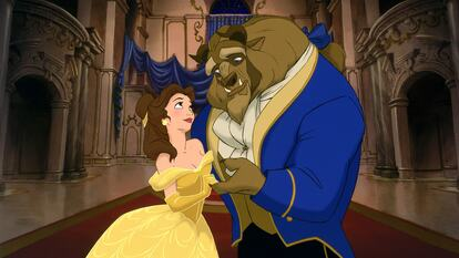 Beauty and the Beast, artwork