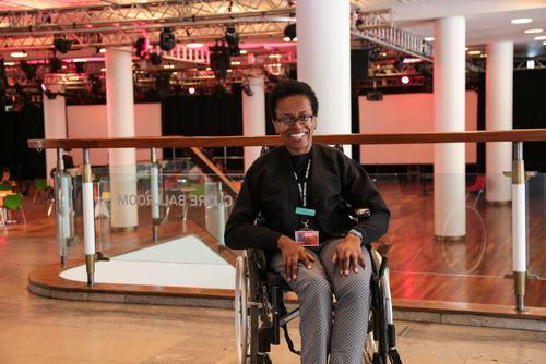 Obi Chiejina.Vistor Experience Host.Royal Festival Hall.August 2016