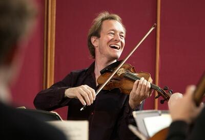 Anthony Marwood, violinist