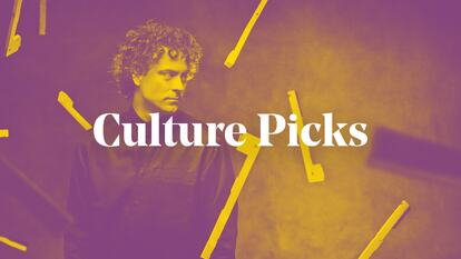 Graphic for Culture Picks blog featuring the pianist Paul Lewis