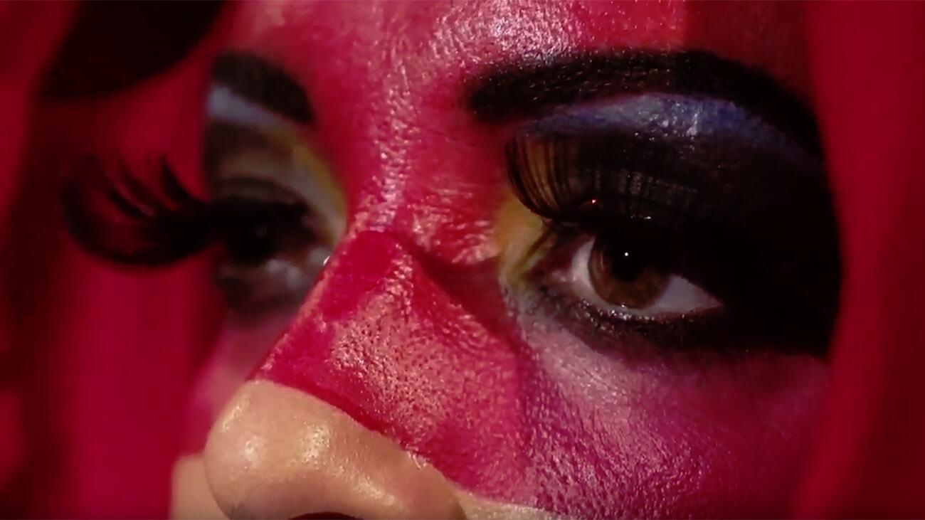 Still from Dancing Words film