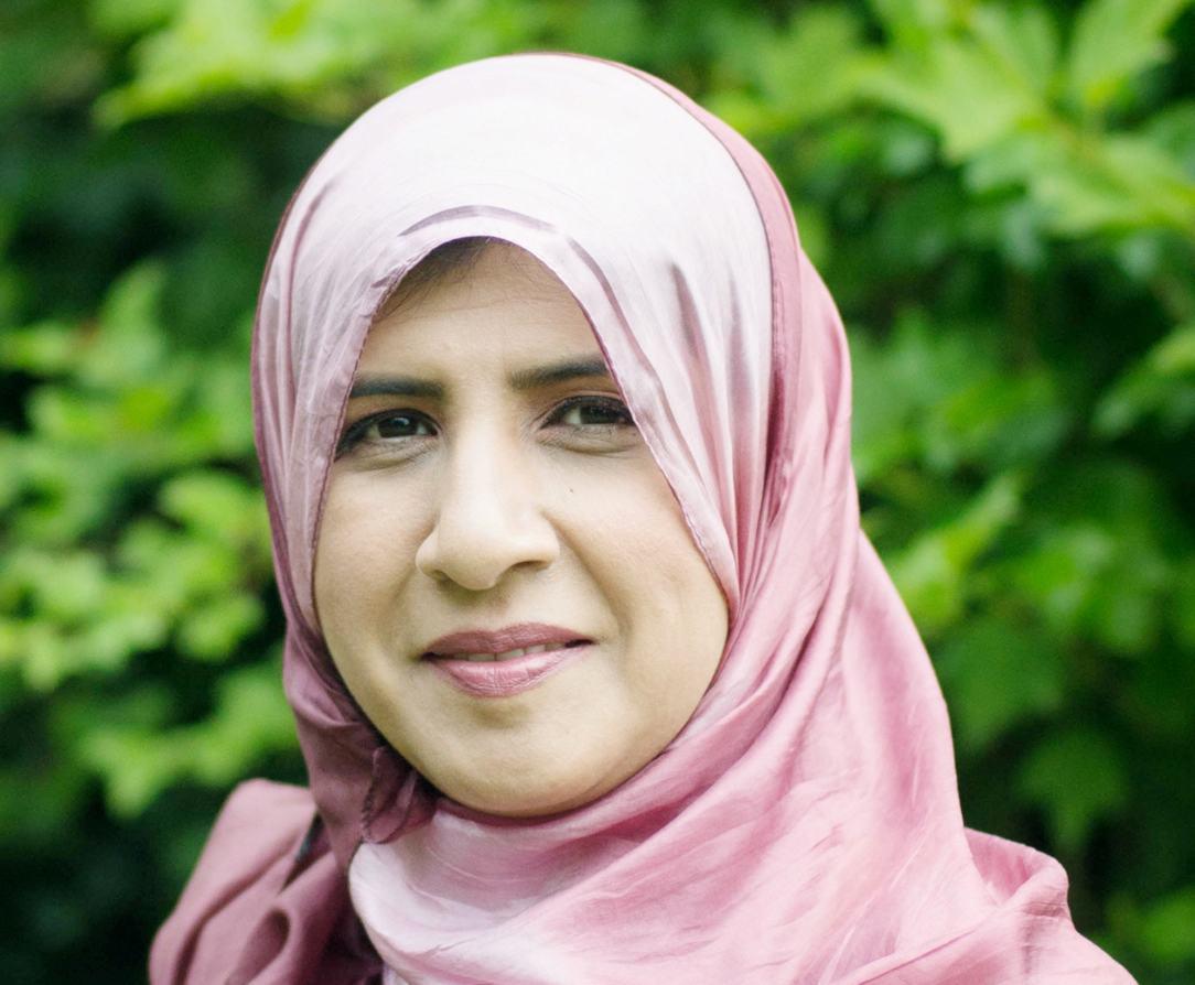 Detail of Shelina Janmohamed