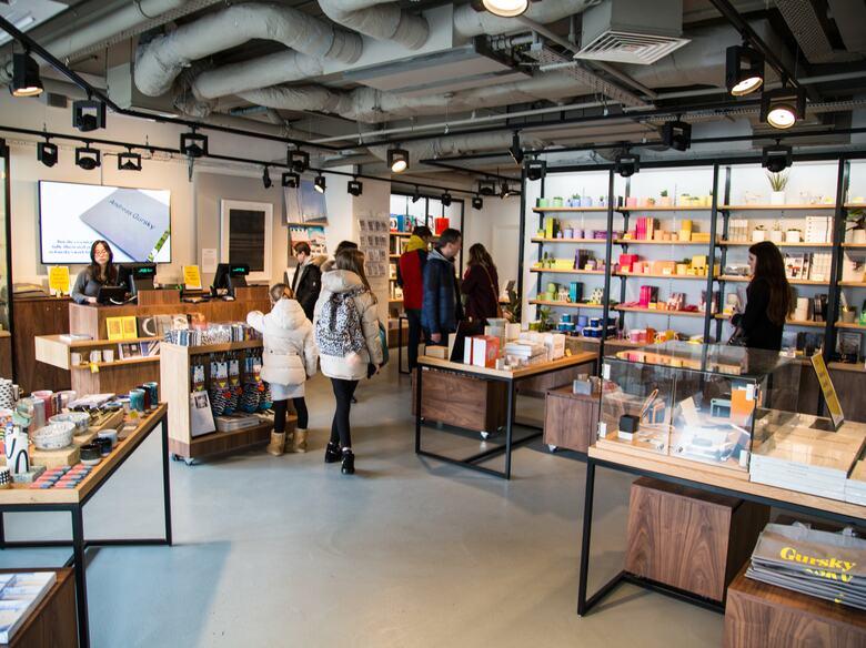 People browsing Hayward Gallery Shop