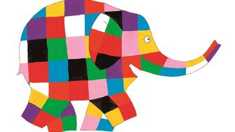 Elmer, the patchwork elephant
