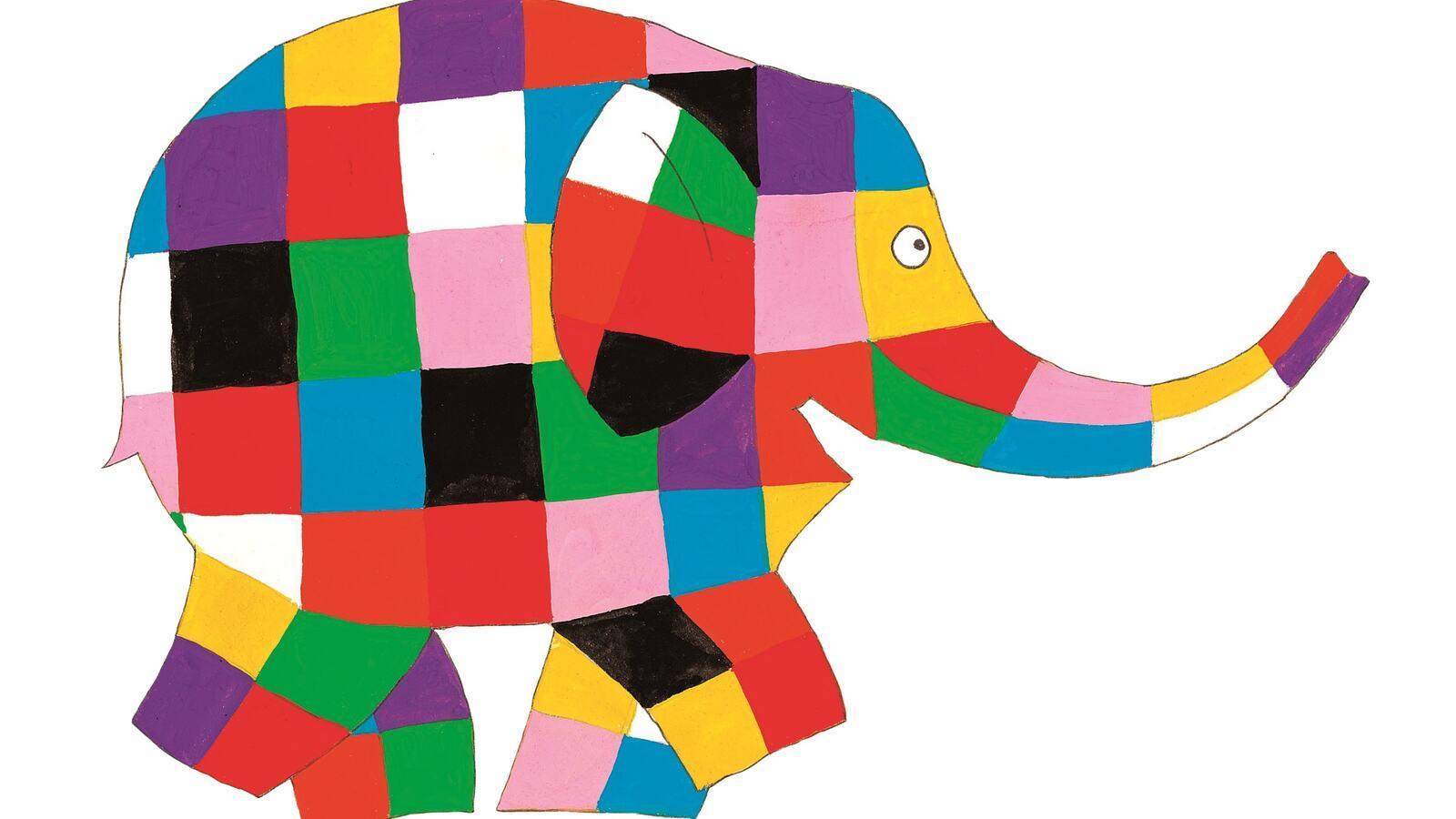 Elmer, the patchwork elephant