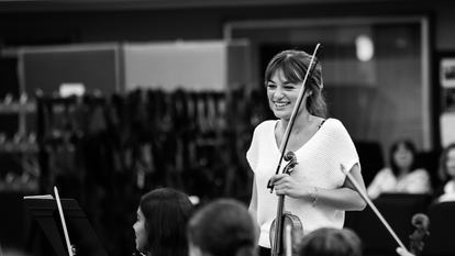 Nicola Benedetti, violinist and Southbank Centre Board Member