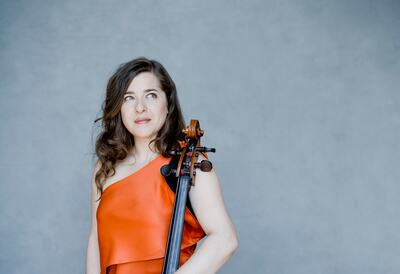 Alisa Weilerstein, cellist