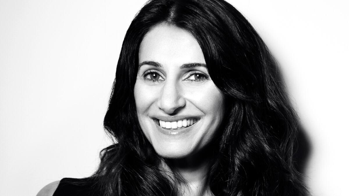 Poet Mona Arshi