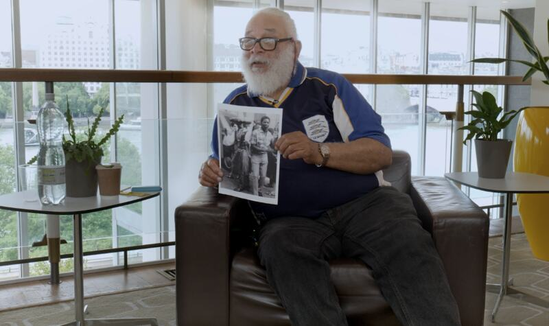 Charlie Phillips shares stories about his photographs