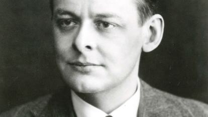 Portrait of Poet, TS Eliot