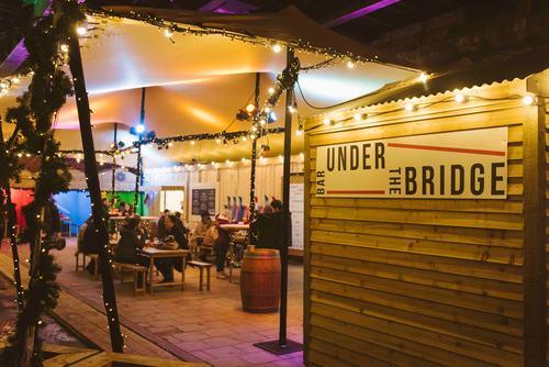 Bar Under the Bridge at Southbank Centre