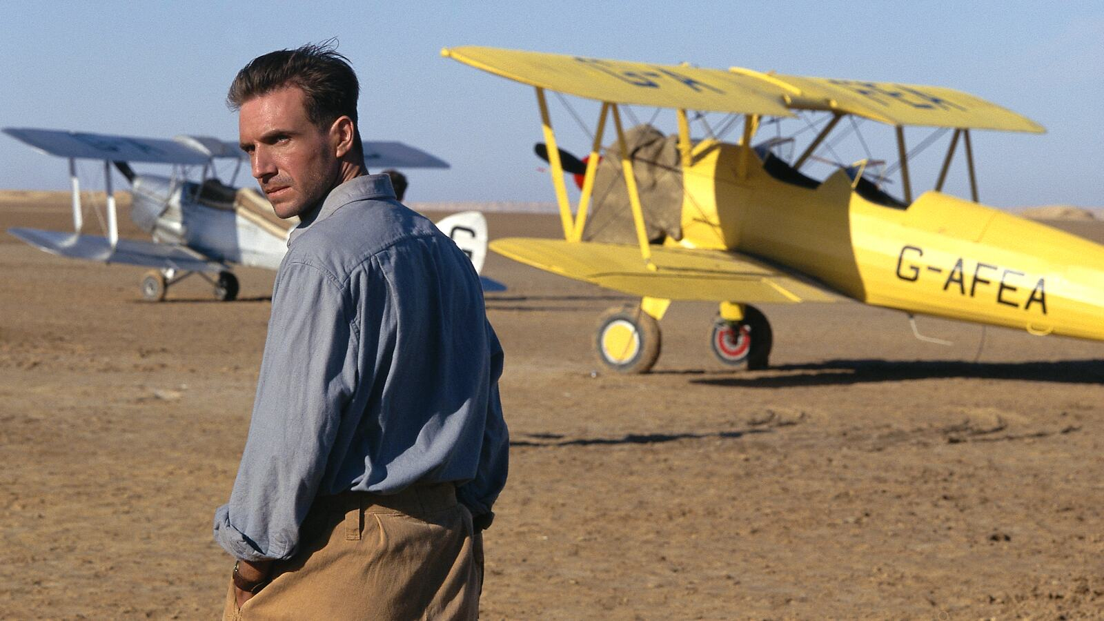 Film still from The English Patient (1996)
