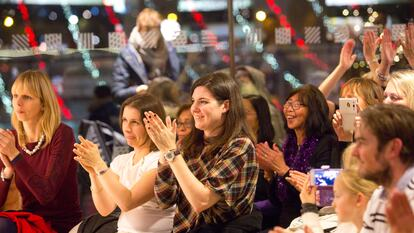 Audience members at Southbank Centre