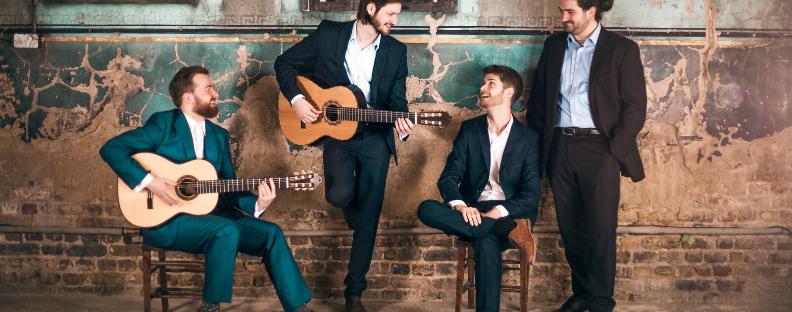 Mela Guitar Quartet, classical guitar quartet