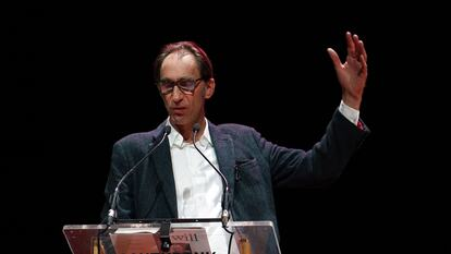 Will Self speaking at Southbank Centre