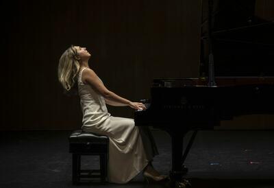 Yulia Chaplina, pianist