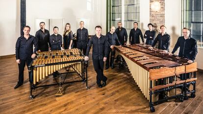 Drumming with Colin Currie Group