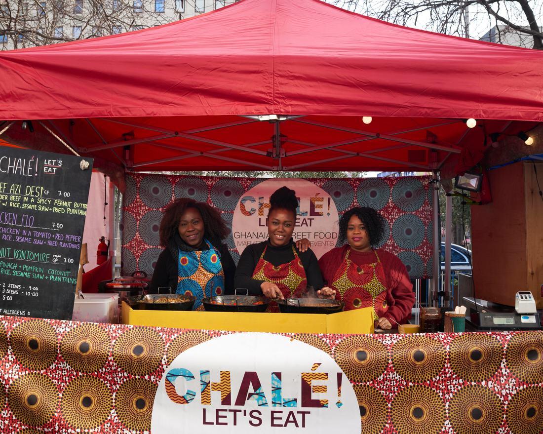 Alicia Ama - Chale Lets Eat