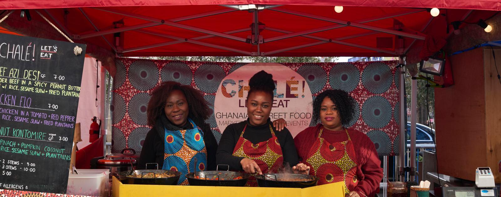 Alicia Ama - stall holder - Africa Utopia food market