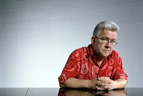 Poet Ian McMillan, photographed by Des Willie