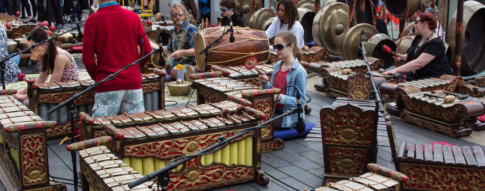 From Festival of Love Gamelan Showcase, 9 July 2016.