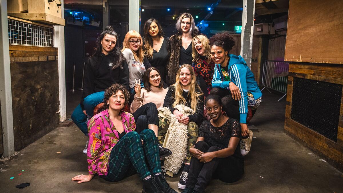SISU, Females and non-binary DJ collective