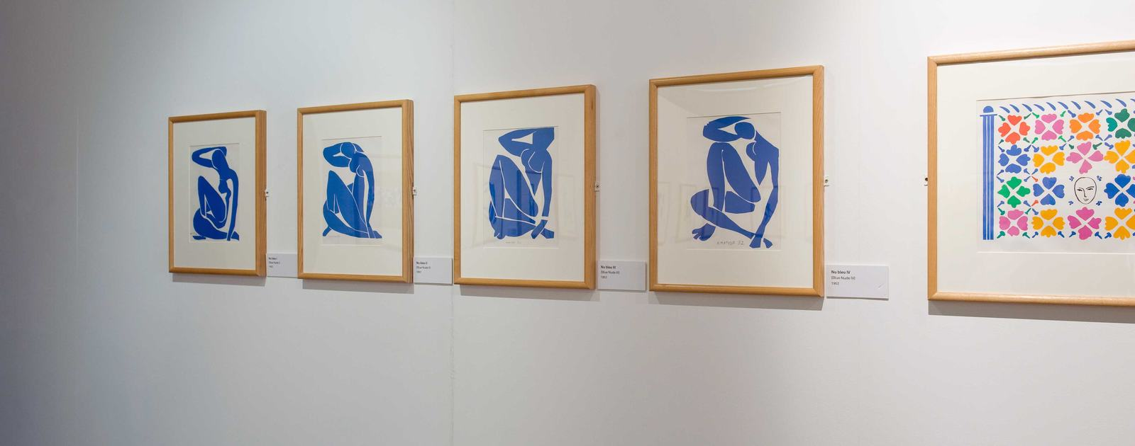 Installation View of MATISSE: DRAWING WITH SCISSORS Late Works 1950 - 1954 Credit Colin DAvison