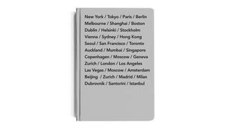 Front cover of Bucket List Cities Journal