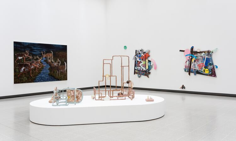 Installation view of Kiss My Genders exhibition at Hayward Gallery