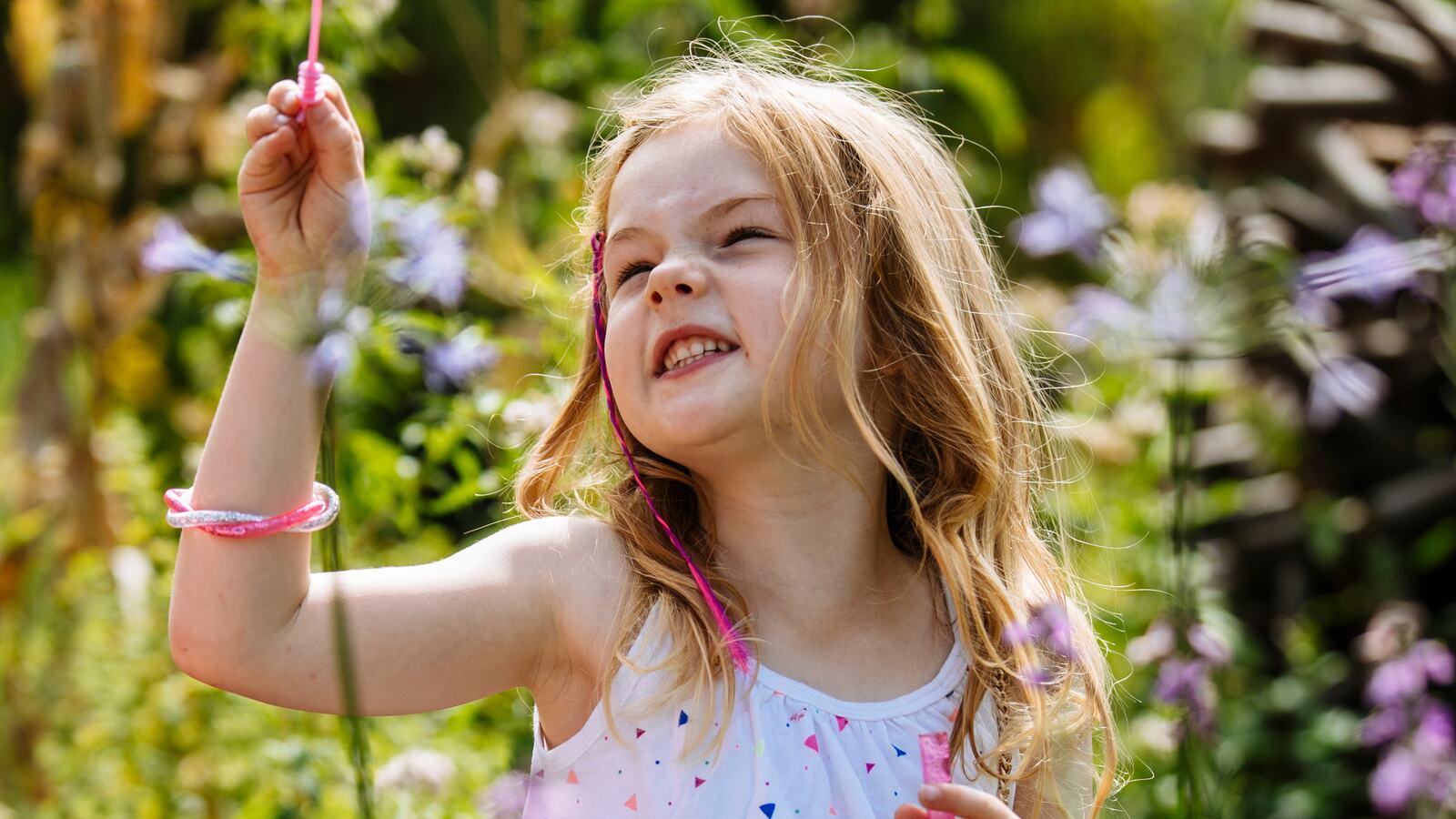 Child on Queen Elizabeth Hall Roof Garden