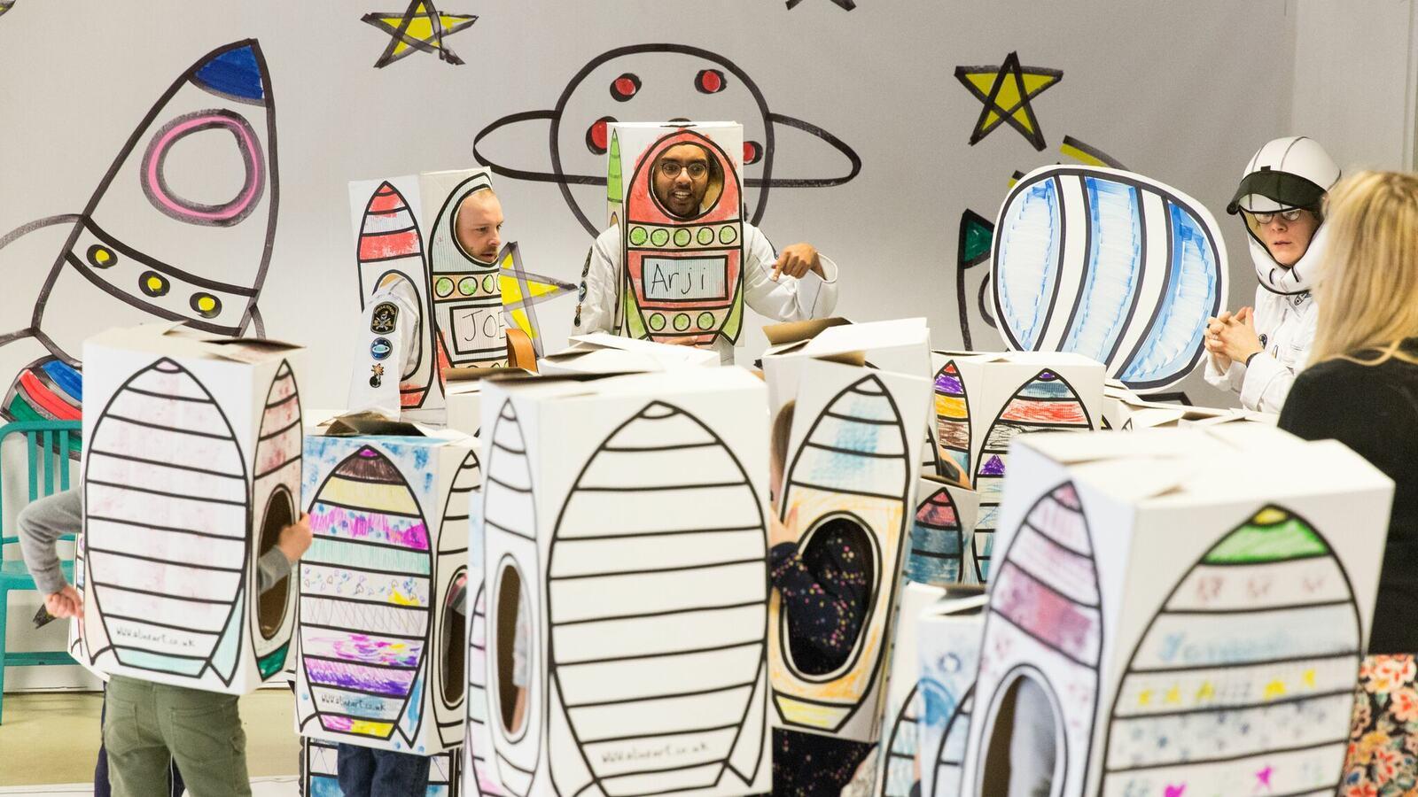 Ready Steady Lift Off astronaut programme